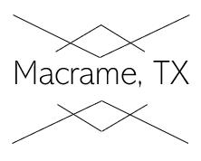 Macrame, TX